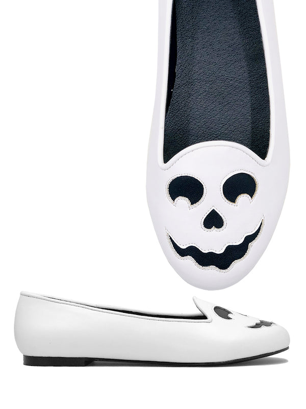 PREORDER Ghost Face Flats (SHIPS LATE APRIL/EARLY MAY)