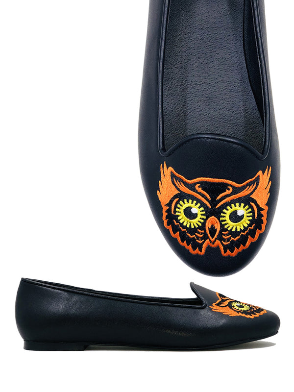 PREORDER Vintage Night Owl Flats (SHIPS LATE APRIL/EARLY MAY)