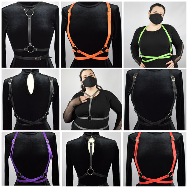 Machete Harness - Reversible, Lots of Color Options & Sizes Available! HANDMADE LOCALLY