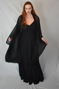 Lilith Mesh Oversized Cloak S-3X