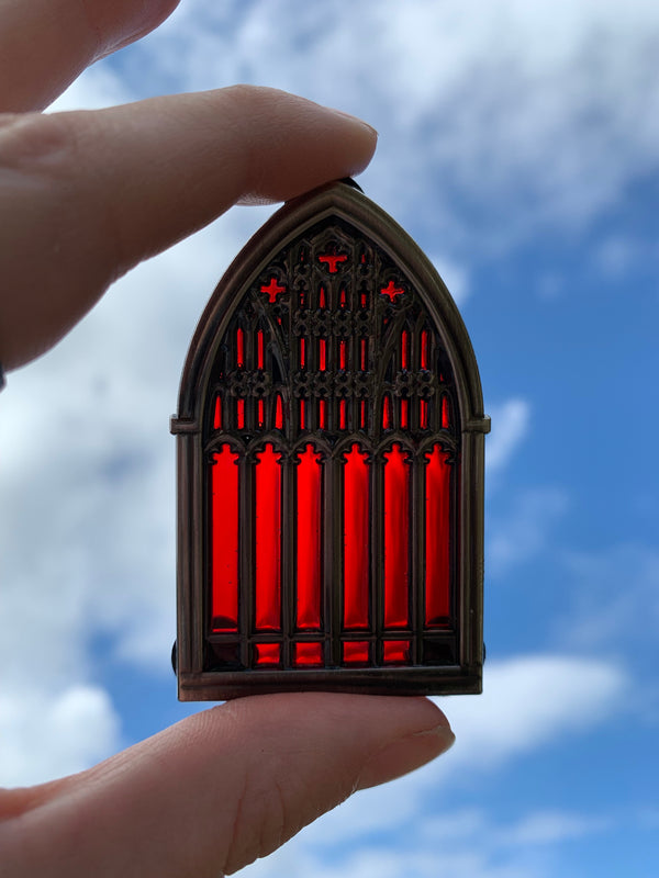 RESTOCKED! Window Over Salem Pin- EXCLUSIVE COLLAB W/ DEMONIC PINFESTATION!
