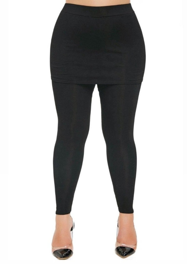 Jaded Jackie Skirted Leggings