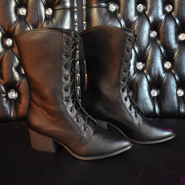 RESTOCKED - The Nancy Boot-FOXBLOOD EXCLUSIVE!