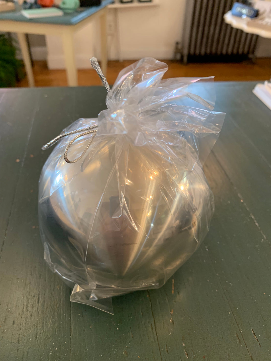 Titanium Ball Candle Silver (Large)
