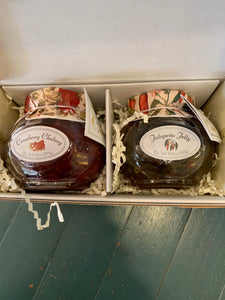12 Oaks Jalapeño and Cranberry Chutney Combo