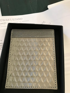 Stewart/Stand Bill Fold - Diamond Plate