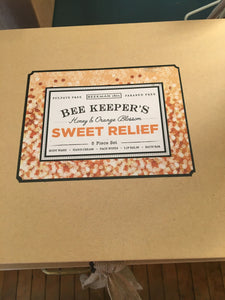 Beekman Bee Keepers Sweet Relief Box  (5 pc Set)