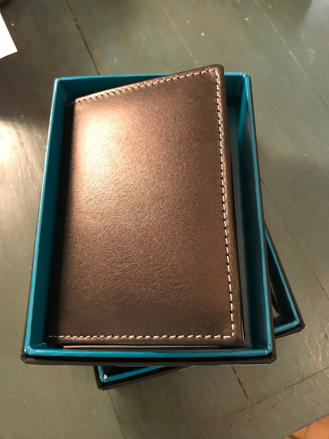 Stewart/Stand Leather Driving Wallet - Black