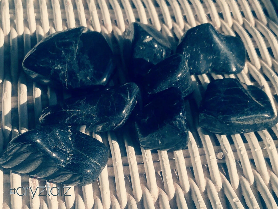 Black Tourmaline Tumble Stone
