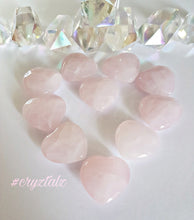 💖 Rose Quartz Puffy Heart 💖
