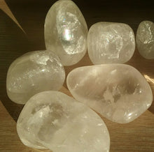 Clear Quartz Tumbles Large