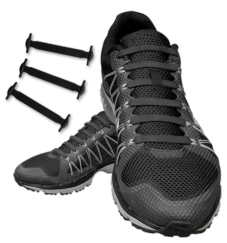 huge selection of d5c77 4ac60 Stretchy and comfortable, the No Tie Elastic Silicone Shoe Laces fit any  casual or sports outfit and make it unique and on trend.