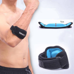 Adjustable Black Elbow Support Strap Pad