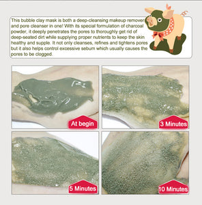 Carbonated Bubble Clay Deep Cleaning Mask