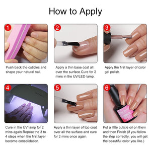 LED Mini Gel Nail Portable Lamp 6W