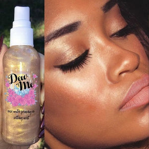 Dew Me Rose Water Highlighter Mist