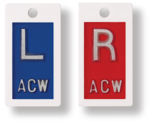 EPP03, Plastic Backed R & L Marker set