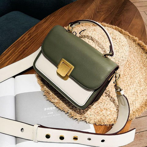 Color Block Cross Body Bag