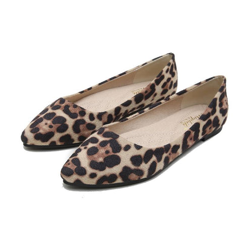 Image of Spring leopard print pumps