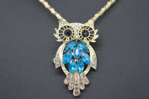 Unique Amazing Owl Pendant Necklace