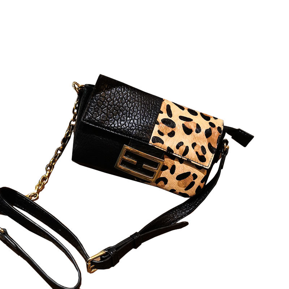 Patterned Mini Crossbody Bag