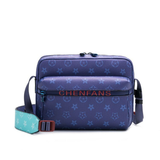 Funky Unisex Double Pouch Crossbody Bag