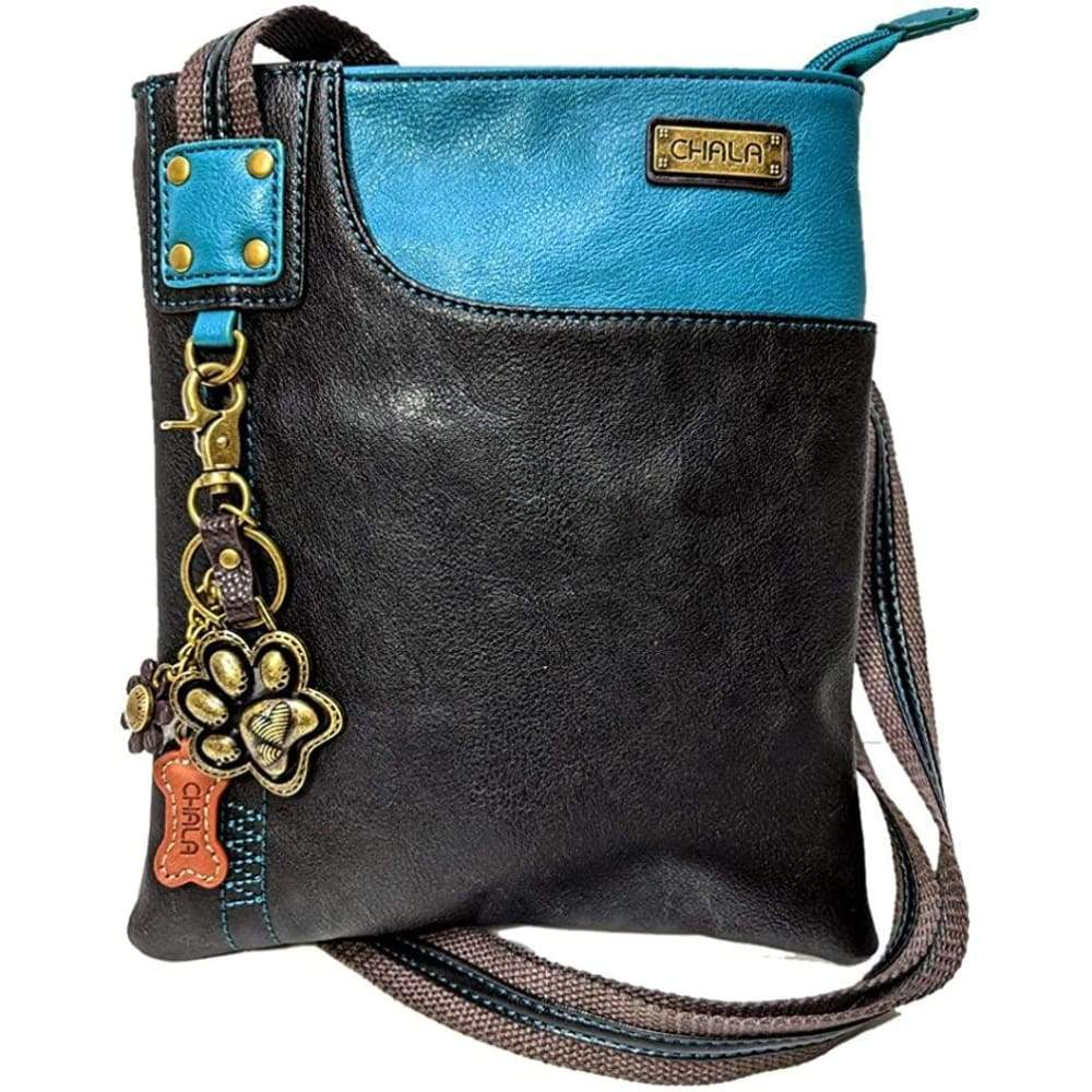 Chala SWING Pack Small Cross-Body Purse with Metal Mini Keychain Clothing Shoes & Jewelry Gloria's Accessory Heaven