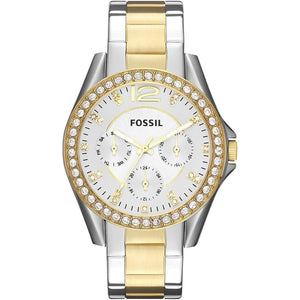 Fossil Women's Riley Stainless Steel Multifunction Clothing Shoes & Jewelry Gloria's Accessory Heaven