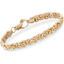 Ross-Simons 18kt Gold Over Sterling Silver Small Byzantine Bracelet Clothing Shoes & Jewelry Gloria's Accessory Heaven