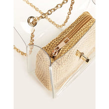 Transparent Chain Strap Crossbody Bag Women - Handbags- Wallets Glorias Accessory Heaven
