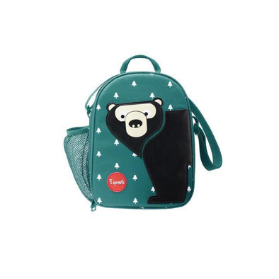 3 Sprouts Lunch Bag, Bear