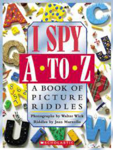 I Spy A to Z, A Book of Picture Riddles