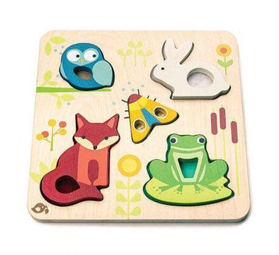 Touchy Feely Animals Puzzle