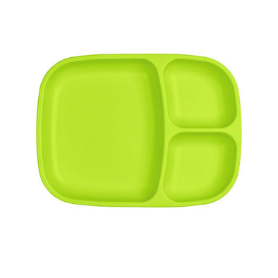 RePlay Divided Tray, Lime Green