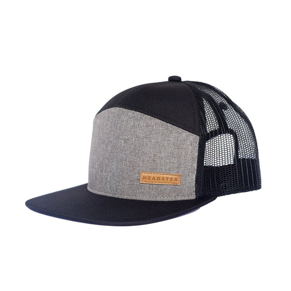 Headster Kids Hat City Grey, Youth Age 7+