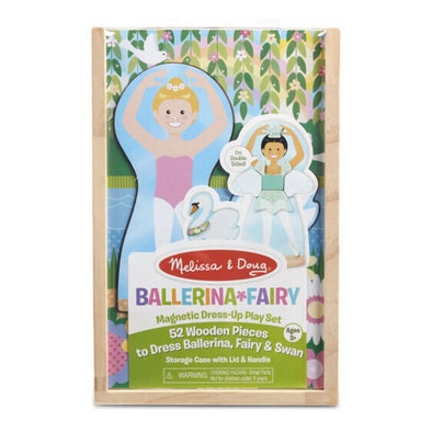 Ballerina & Fairy Magnetic Dress Up Play Set