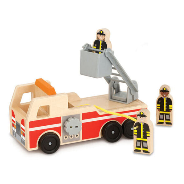 Melissa and Doug Wooden Fire Engine