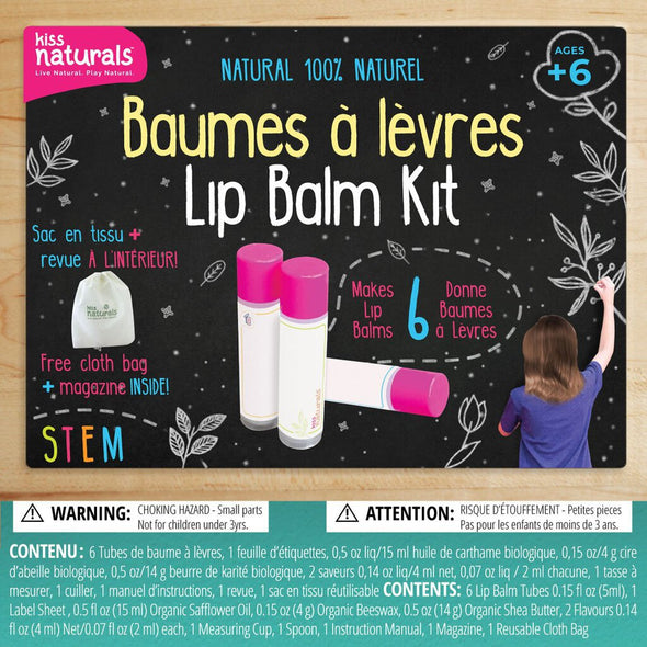 Kiss Naturals Lip Balm Making Kit