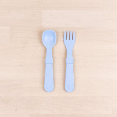 Replay Utensils 8-pack, Ice Blue