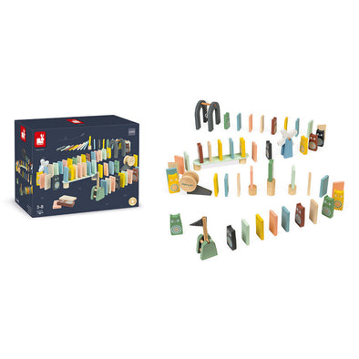 Janod 100pc Domino Set
