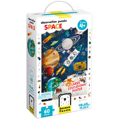 Banana Panda Observation Puzzle, Space 60pc