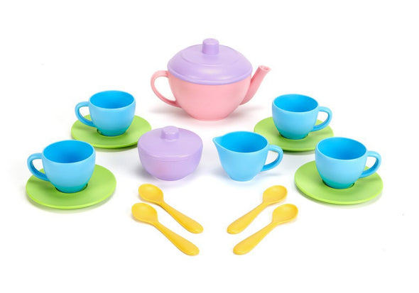 Green Toys Tea Set,Pink