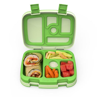 Bentgo Kids Lunch Box, Green