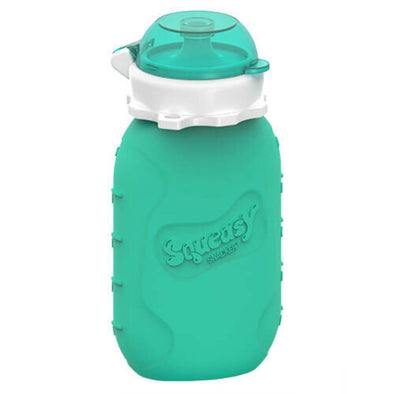 Squeasy Gear Snacker 6oz, Aqua Blue