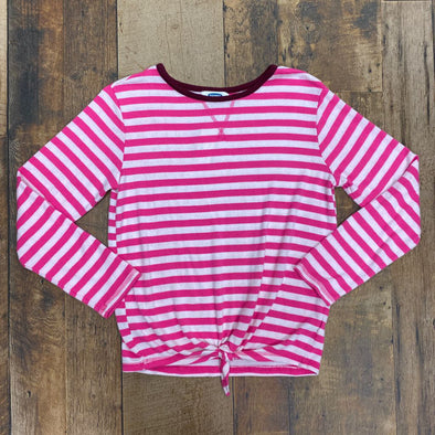 OLD NAVY STRIPE SHIRT SIZE 14