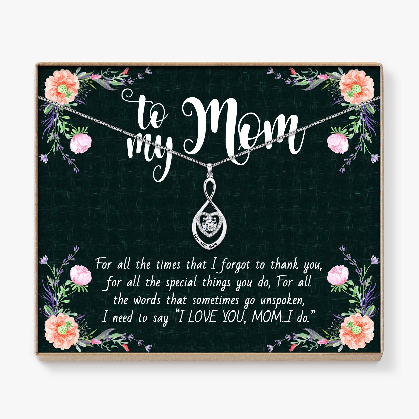 To My Mom - Love You Pendant
