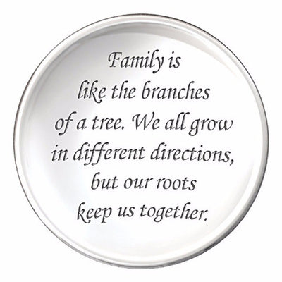 To My Mom - Family Tree Pendant