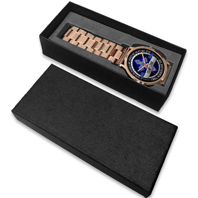 To My Love Rose Gold Watch