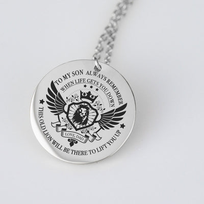 To My Son Pendant