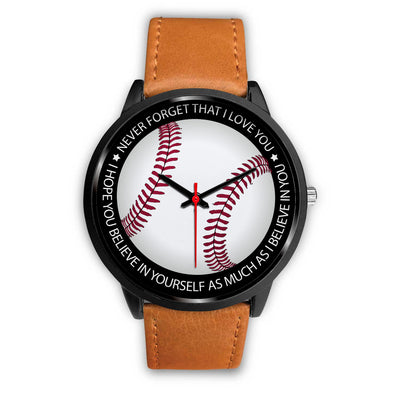 BASEBALL WATCH - BELIEVE IN YOURSELF